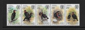 BIRDS - SWAZILAND #475  MNH