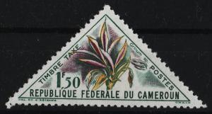 Cameroon 1963 Postage Due Stamps / flowers 1.50F (1/16) USED