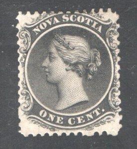 NOVA SCOTIA #8, F,  Unused No gum.  CV 20.00   ....   4590009