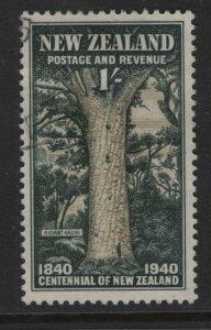 NEW ZEALAND, 241, USED, 1940, Giant Kauri