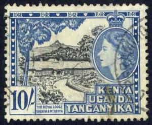 Kenya Uganda Tanzania Sc# 116 Used 1954-1959 Royal Lodge Sagana