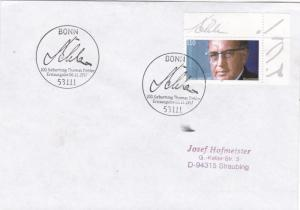 Germany 1997 Birth Centenary of Thomas Dehler FDC VGC