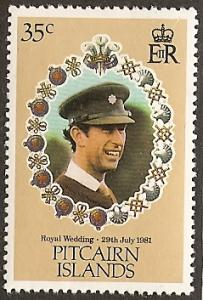 Pitcairn Isl. 207 MNH Royal Wedding