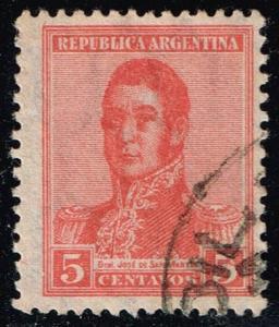 Argentina #236 Jose de San Martin; Used (0.50)
