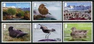 South Georgia & Sandwich Islands 2019 MNH Habitats Restored 6v Set Birds Stamps