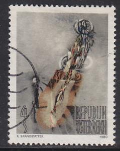 Austria 1164 Hinged Used 1980 Moon Figure