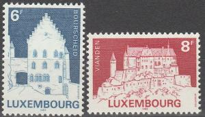 Luxembourg #678-9 MNH F-VF (SU3815)