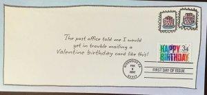 HNLP Hideaki Nakano Greeting Card 3558 Love Happy Birthday Valentines Day 33