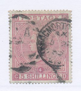 Great Britain Stamp Scott #90, Used, Good Centering/Margins, Town Cancels, Pl...