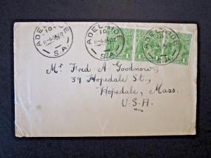 Australia 1932 Cover to USA - Z4916