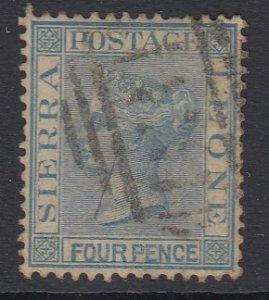 Sierra Leone Sc 16 (SG 21), used