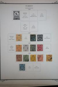 Turkey 1800's to 1940's Stamp Collection