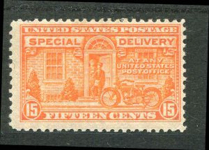 Special Delivery E13 Orange 15¢1925 Mint Hinged CV $40