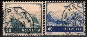 Switzerland #C43-4 F-VF Used CV $11.50 (X299)