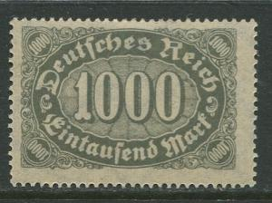 GERMANY. -Scott 204 - Definitives -1922- MLH - Wmk 126 - Single 1000m Stamp