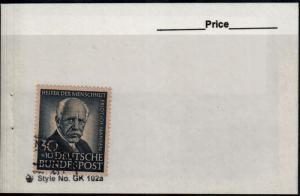 Germany Used Semi-postal #B337 August Hermann Francke