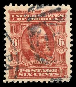 momen: US Stamps #305 Used PSE Graded XF-90J
