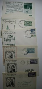 Ford Motor & Dearborn Stamp Club MI Philatelic Expo Cachet Covers Lot 5