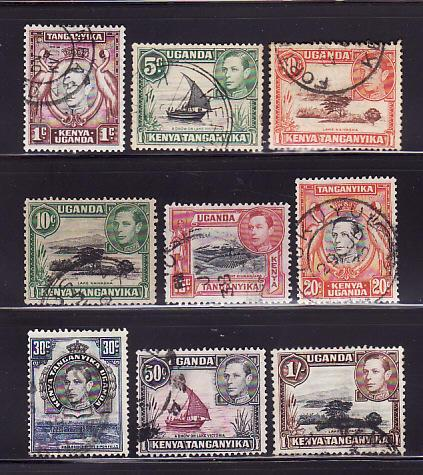 Kenya, Uganda, Tanzania 66-67, 69-70, 72 74, 76, 79-80 U (B)