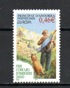 Andorra - French 570 MNH