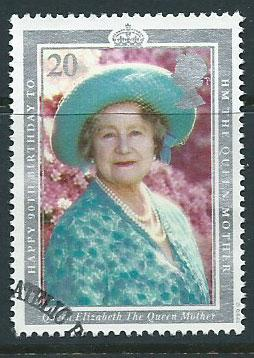 GB  QEII  SG 1507 Queen Mother VFU Bureau Cancel