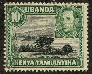 Kenya-Uganda-Tanganiyka, Scott #70, Used