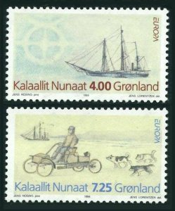 Greenland 268-269,MNH.Michel 247-248. EUROPE CEPT-1994.Expedition to North East.