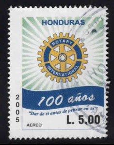 Honduras  Scott C1185  Used Rotary Intl. Airmail