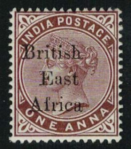British East Africa Scott 55 Unused hinged.