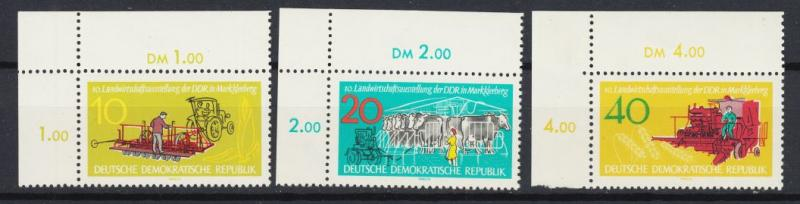East Germany - 1962 Agricultural Exhibition - MNH (8947)