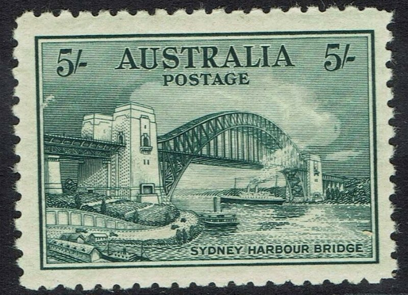 AUSTRALIA 1932 BRIDGE 5/-
