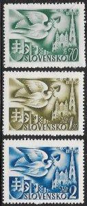 Slovakia 74-76 MNH -  Postal Congress