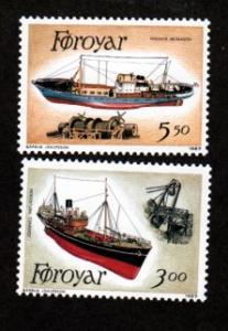Faroe Islands # 158//160 Mint NH!