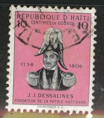 Haiti  Scott 408 used  stamp