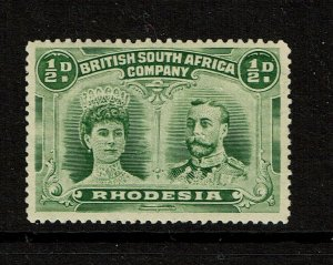 Rhodesia SG# 119, Mint Hinged, two Hinge rems - S13619