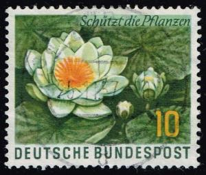 Germany #773 Water Lily; Used (0.45)