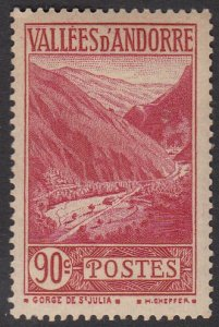 French Andorra 47 MLH (see Details) CV $6.25