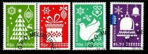 AUSTRALIA SG4284/7 2014 CHRISTMAS FINE USED
