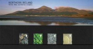 2001 Northern Ireland Definitive Pack no.53 Presentation pack - Complete
