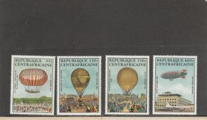 CENTRAL AFRICAN REPUBLIC C282-C285 MNH 2014 SCOTT CATALOGUE VALUE $10.00