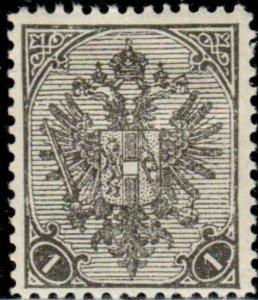 1900 Bosnia Shield Stamp - Scott #11  Mint MH
