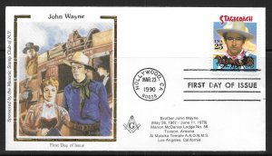 USA 2448 Stagecoach Colorano First Day Cover FDC (z3)