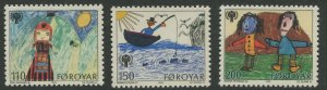 STAMP STATION PERTH Faroe Is. #45-47 Pictorial Definitive Issue MNH 1979 CV$1.80