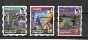Brunei 542-544 MNH