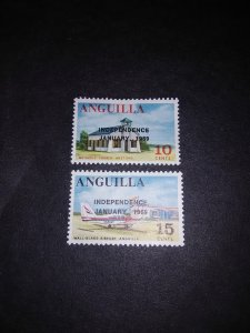 ^Anguilla #59-60**