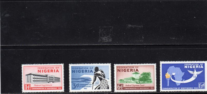 Nigeria 1960  Independence Commemoration MNH