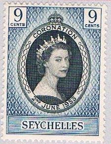 Seychelles 172 MLH Coronation Issue 1953 (BP38630)