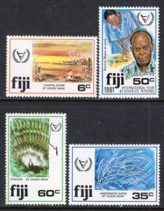 Fiji 438-441 MNH VF