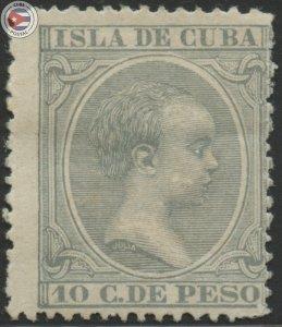 Cuba 1896 Scott 149 | MHR | CU18135