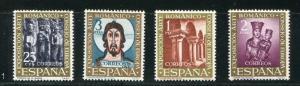 Spain #1004-7 MNH